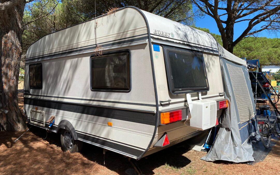 Hobby caravan 1988 Vintage